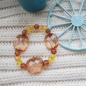 Handmade brown bracelet